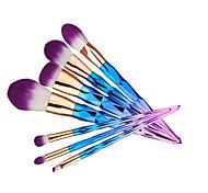 7 Наборы кистей Кисть для румян Кисть для теней Кисть для консилера Кисть для пудры Кисть для основы Щетка контура Синтетические волосы