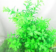 Aquarium Decoration Waterplant Plastic Green