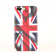 For Pattern Case Back Cover Case Flag Hard PC for Apple iPhone 7 Plus iPhone 7 iPhone 6s Plus iPhone 6 Plus iPhone 6s iPhone 6