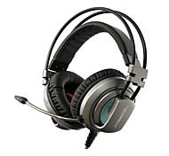XIBERIA V10 Gaming Headphones With Microphone Computer Headset With Mic PC Gamer USB LED Gaming Headphones Headband