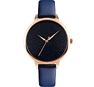 Women's Dress Watch Fashion Watch Japanese Quartz Water Resistant / Water Proof Leather Band Elegant