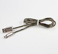 Symphony USB 2.0 Type C Portable Cable For Samsung Huawei Sony Nokia HTC Motorola LG Lenovo Xiaomi 100 cm PVC Metal