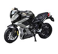 Motorräder Spielzeuge Auto Spielzeug 1:18 ABS Schwarz Model & Building Toy