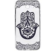 For Samsung Galaxy J7 J5 (2017) Case Cover Finger Flower Pattern High Penetration TPU Material Phone Case J3(2017) J7 J5 J3 (2016)J7 J5 J3