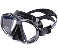 Diving Masks Diving / Snorkeling Glass silicone Red Yellow Blue Black Silvery
