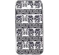 For Samsung Galaxy J7 J5 (2017) Case Cover Elephant Pattern High Penetration TPU Material Phone Case J3(2017) J7 J5 J3 (2016)J7 J5 J3
