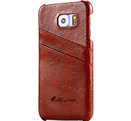 For Samsung galaxy S7 Case Luxury Oil Wax Genuine Leather Back Phone Cover Case S5 S6 S6 Edge S6 Edge Plus
