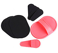 1Pcs Style Smooth Leg Arm Skin Pads Face Upper Lip Hair Removal Exfoliator Set