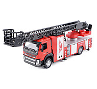 Fire Engine Vehicle Pull Back Vehicles Car Toys 1:28 Metal Red Model & Building Toy