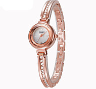 Women's Fashion Watch Quartz Alloy Band Silver Rose Gold