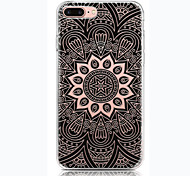 For Painting Case Back Cover Case Black compass Soft TPU for Apple iPhone 7 Plus/iPhone 7/iPhone 6s Plus/iPhone 6s