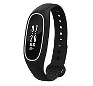 Смарт-браслет Защита от влаги Длительное время ожидания Педометры Медобеспечение Пульсомер Измерение кровяного давления Bluetooth 4.0iOS