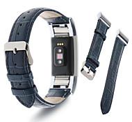 Fitbit заряд 2 группа Моко премиум мягкой натуральной кожи крокодила шаблон ремешок