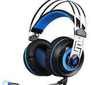 SADES A7 3.5mm Headphone Stereo Surround USB Gaming Headset Game Headband MicHeadphone with Mic for Mac PC YXEJ03
