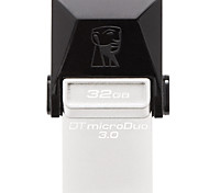 Kingston DTDUO3 32GB USB 3.0 Flash Drive OTG Micro USB Mini Ultra-Compact