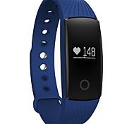 Relógio Bluetooth inteligente com monitor de freqüência cardíaca pedômetro função de câmera remota pulseira impermeável