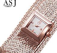 Women's Fashion Dress Watch Japanese Quartz Metal Band Elegant Silver Gold Rose Gold Bracelet Watch