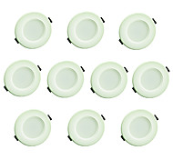 YouOKLight 10PCS 3W AC220V 8xSMD5730 200LM Warm White/Cold White 3000K/6000K Light Recessed Ceiling Light