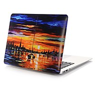 MacBook Case for Oil Painting PVC Material