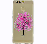 For Huawei Mate 9 P9 Tree Pattern Soft TPU Material Phone Case For P9 Lite Honor 5C