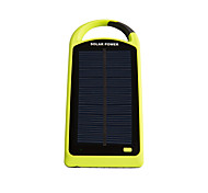SUNWALK 8000mAh Waterproof Shockproof Dustproof Solar Power Bank External Battery Solar Charger for Cell Phone