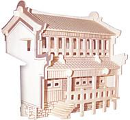 Puzzle Kit fai-da-te Puzzle 3D Puzzle Giocattoli di logica e puzzle Costruzioni Giocattoli fai da teQuadrata Edificio famoso Edificio in