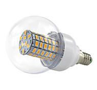4.5W E14 LED Bubble Corn Style 69 SMD5730 420Lm Warm / Cool White Wide Voltage AC/DC10-60V 12V 24V 36V 48V (1 Piece)