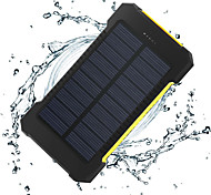 The New 8000mah Ddual-Usb Solar Powered Mobile Power