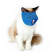 Cat Muzzles Travel Tool Beauty Supplies Accessories Pink Blue S L Adjustable Strap Lined Terylene Brethable Mesh Pet Muzzles