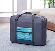 Дорожная сумка Складной Переносной Большая вместимость для Хранение в дороге Полиэстер-Оранжевый Розовый Зеленый Синий