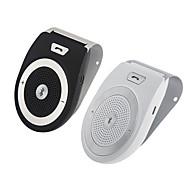 Громкой связи Bluetooth автомобильный комплект для iphone громкой связи шумоподавления беспроводной клип на солнцезащитный козырек