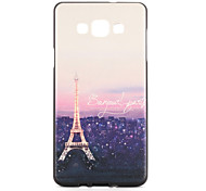 For Samsung Galaxy A7 A5 Case Cover Pattern Back Cover Case Eiffel Tower Soft TPU