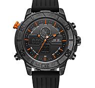 WEIDE Men's Sport Watch Military Watch Wrist watch Japanese Quartz DigitalLED LCD Calendar Water Resistant / Water Proof Dual Time Zones
