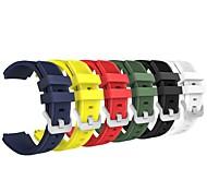 6шт для samsung gear s3 frontier / s3 классический сменный ремень для ремня мягкий силиконовый ремешок на браслет