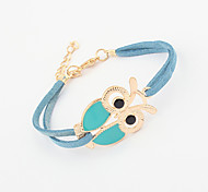 Women's Leather Bracelet Jewelry Fashion Leather Alloy Irregular Jewelry For Party Special Occasion Gift