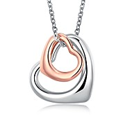 Women's Pendants Jewelry Heart Zircon Alloy Dangling Style Jewelry For Daily Casual 1pc
