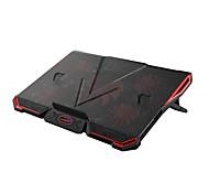 Verstellbarer Ständer MacBook Tablet PC Laptop Stehen Sie mit Kühlventilator Aluminium