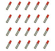 20Pcs T10 13*5050 SMD LED Car Light Bulb Red Light DC12V