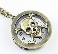 Men's Pocket Watch Fashion Watch Quartz Alloy Band Bronze