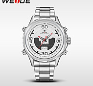 WEIDE Men's Sport Watch Military Watch Dress Watch Fashion Watch Digital Watch Wrist watch Japanese Quartz DigitalLED Calendar Water