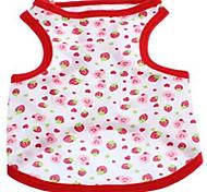 Chien Gilet Vêtements pour Chien Eté Fruit Mignon