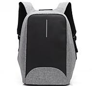 15.6 дюймовый ноутбук сшитый бизнес непромокаемой нейлоновой тканью с рюкзаком для ноутбука портативного порта USB для dell / hp / lenovo