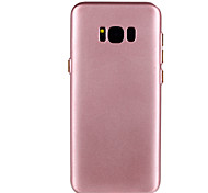 For Samsung Galaxy S8 Plus S8 TPU Material Solid Color Fuel Injection Phone Case S7 Edge S7