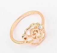 Классические кольца Кольцо Имитация АлмазныйБазовый дизайн Уникальный дизайн С логотипом Цветочный дизайн Животный дизайн Дружба США