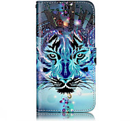 For Huawei P10 Lite P8 Lite (2017) PU Leather Material Wolf Pattern Relief Phone Case P10 Plus P10 P9 Lite P8 Lite