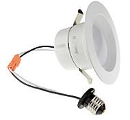 Youoklight 1pcs e26 / e27 10-12w 950lm ac110-130v 24 * 5730 smd bianco caldo / bianco freddo ha condotto la luce del soffitto downlight