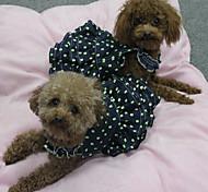 Собаки Платья Одежда для собак Лето Весна/осень ПринцессаМилые Косплей День рождения Праздник ковбой Мода На каждый день Классика Свадьба