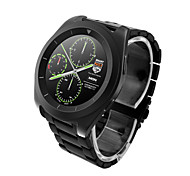 G6 MTK2502 Ultra Thin IPS Screen Step Rate Heart Rate Monitoring Metal Strap Bluetooth Smartwatch for Android & Ios