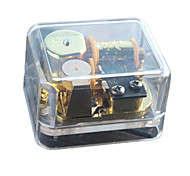 Music Box Square Novelty & Gag Toys Metal Unisex