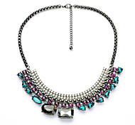 Women's Pendant Necklaces Geometric Chrome Unique Design Personalized Rainbow Jewelry For Gift Outdoor 1pc